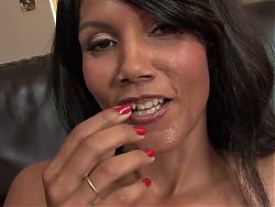 beautiful latin milf in stockings fucks daugter's boyfriend