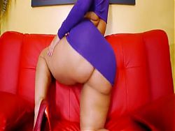 Phat Booty Purple Dress