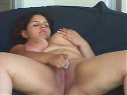 Fat BBW Latina Ex GF loves riding and sucking Cock