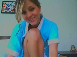 Hot girl camming