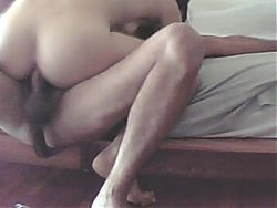 Home made anal : skinny milf's  sodomized perfect ass