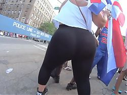 Big Dominican BBW Ass