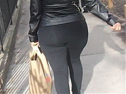 Jiggly Latina Booty In Spandex