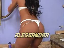 Alessandra Marques fucked in the ass